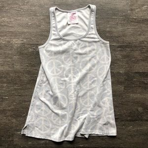 VS PINK peace sign dress
